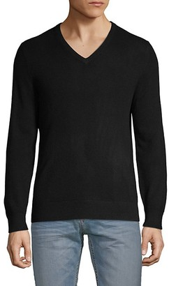 Amicale Cashmere V-Neck Sweater