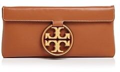 Tory Burch Miller Small Leather Clutch