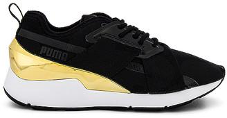 Puma Muse X-2 Metallic Sneaker
