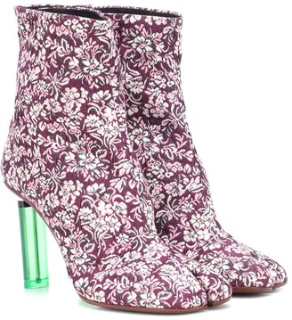 Vetements Split-toe lighter ankle boots