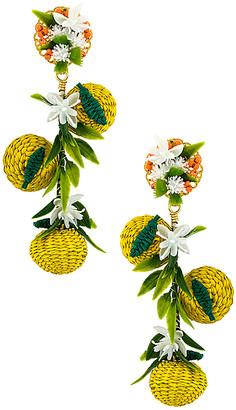 Mercedes Salazar Lemon Dangle Earring
