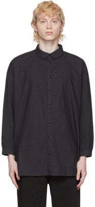 Toogood Black The Draughtsman Shirt