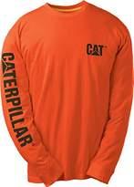 Caterpillar Men's Trademark Banner Long Sleeve T-Shirt