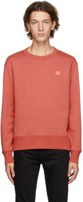 Acne Studios Red Fairview Patch Sweatshirt