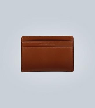 Dries Van Noten Leather cardholder with logo