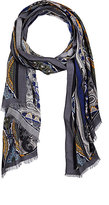 Colombo MEN'S PAISLEY CASHMERE-SILK SCARF