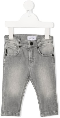 Givenchy Kids Slim-Fit Stonewashed Jeans