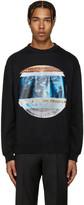 Versace Black Print Pullover