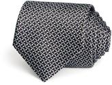 Lanvin Wave Woven Silk Classic Tie
