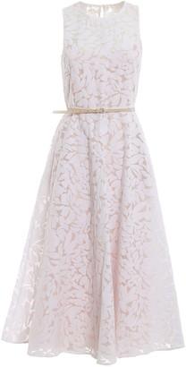 Max Mara Sleeveless Lace Dress