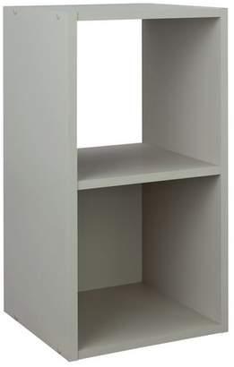 Argos Home Squares 2 Cube Storage Unit - Grey