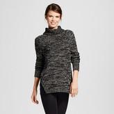 Heather B Women's Marled Turtleneck Sweater