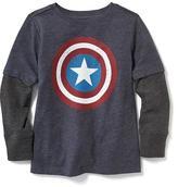 Old Navy Marvel Captain America 2-in-1 Tee for Toddler