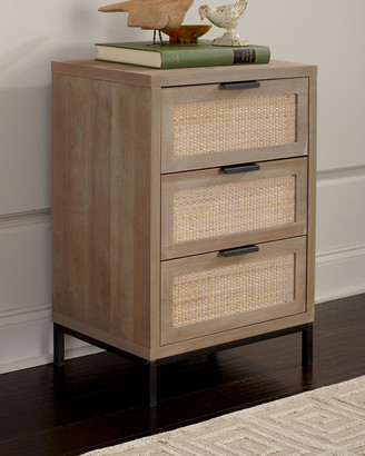 Jamie Young Reed 3-Drawer Side Table