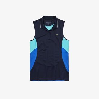 Lacoste Women's SPORT Breathable Pique Tennis Polo