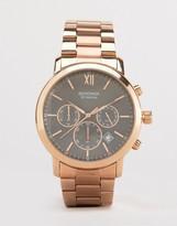 Sekonda Chronograph Bracelet Watch With Black Dial Exclusive To Asos