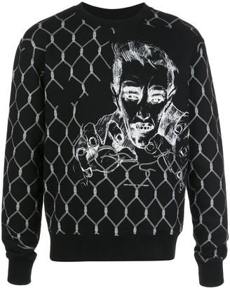 Off-White Broken Fence Print Sweater