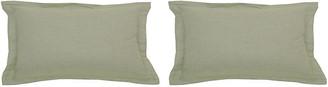 Set of 2 Premier Outdoor Lumbar Pillows - Sage - Wendy Jane