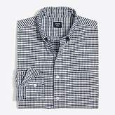 J.Crew Factory Flex oxford shirt in gingham