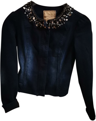 Silvian Heach Blue Denim - Jeans Jackets
