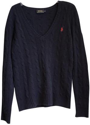 Polo Ralph Lauren Blue Wool Knitwear for Women