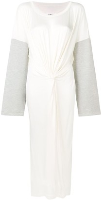 MM6 MAISON MARGIELA Tied Front Long Dress