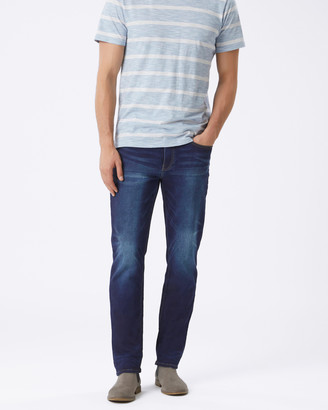 Jeanswest Slim Straight Knit Jeans Dark Indigo