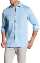Report Collection Modern Fit Linen Shirt