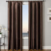 JCPenney SOFTLINE HOME FASHIONS Sedro Solid Faux-Silk Rod-Pocket Curtain Panel