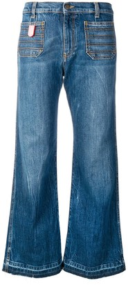 Philosophy di Lorenzo Serafini Cropped Flared Jeans