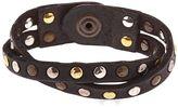 Campomaggi Studded Leather Bracelet