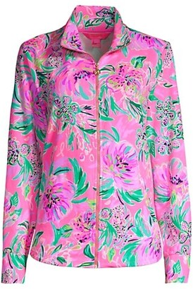 Lilly Pulitzer Leona Zip-Up Sweater