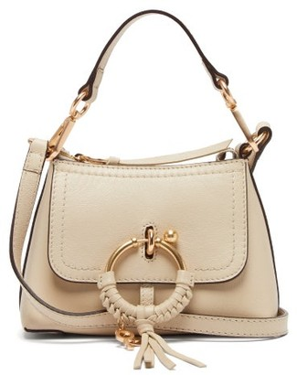 See by Chloe Joan Mini Leather Cross-body Bag - Beige