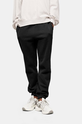Topshop Womens Washed Black Joggers - Washed Black
