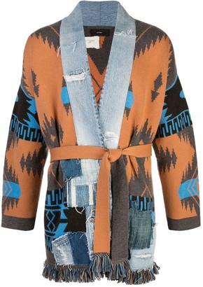 Alanui x Greg Lauren Icon cashmere kimono cardigan