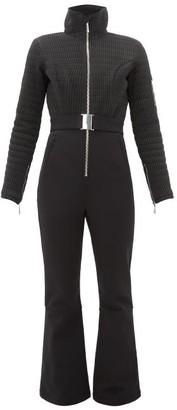 Cordova Verbier Belted Smocked Ski Suit - Womens - Black
