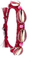 Venessa Arizaga Shell We Dance Bracelet - Red