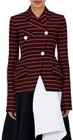 Proenza Schouler WOMEN'S COTTON-WOOL STRIPED JACQUARD JACKET