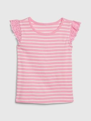Gap Toddler Eyelet Flutter T-Shirt
