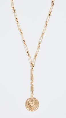 Eliza J Brinker & Love You To The Moon Y-Necklace