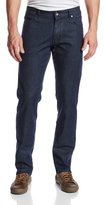 Victorinox Men's Esher Denim Five-Pocket Dark-Wash Stretch Jean