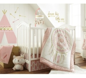 Levtex Baby Little Feather Crib Bedding Set of 5 Bedding