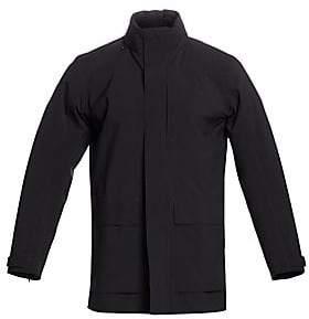 Ermenegildo Zegna Men's Zip-Front Wool-Blend Jacket