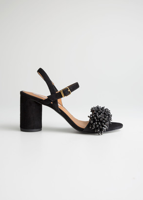 And other stories Beaded Strappy Heeled Sandals