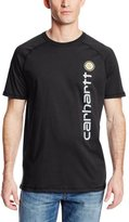 Carhartt Men's Big & Tall Force Cotton Delmont Graphic Short Sleeve T Shirt