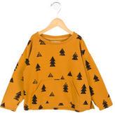 Bobo Choses Girls' Lightweight Tree Print Sweatshirt w/ Tags