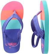 Osh Kosh OshKosh Striped Flip Flops
