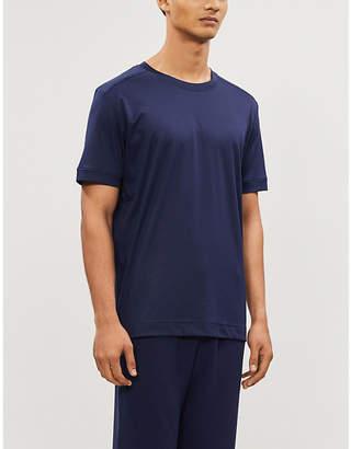 Zimmerli Crewneck cotton-jersey T-shirt