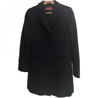 Max Mara Blue Wool Coat for Women