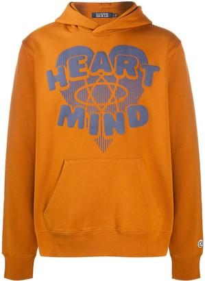 Billionaire Heart & Mind print hoodie
